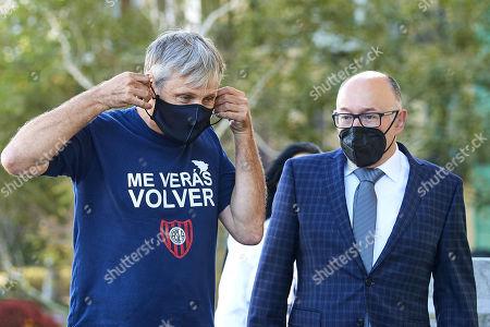 Viggo Mortensen and Jose Luis Rebordinos