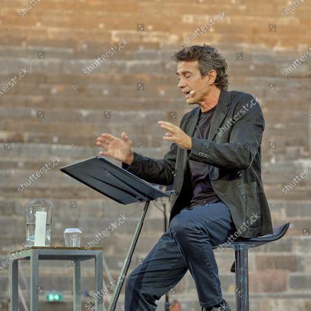 Stock Photo of Alessio Boni during Festival della Bellezza