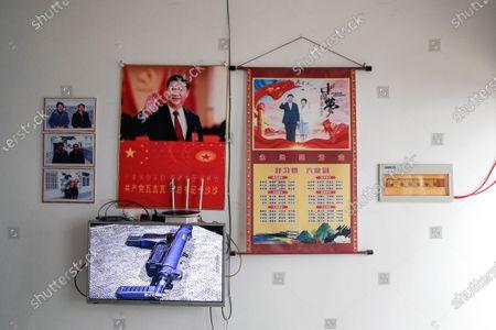 Editorial image of Xi Portraits, Ganluo, China - 10 Sep 2020