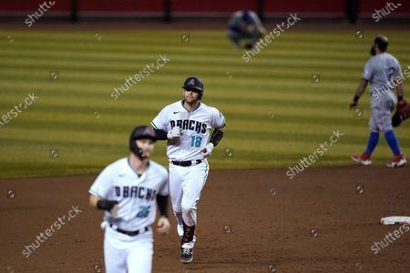 Editorial picture of Rangers Diamondbacks Baseball, Phoenix, United States - 22 Sep 2020