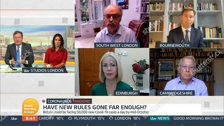 Editorial image of 'Good Morning Britain' TV Show, London, UK - 23 Sep 2020