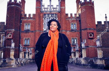 Alison Hammond at Hampton Court Palace