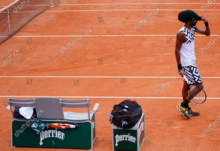Editorial photo of French Open Tennis, Wednesday Previews, Roland Garros, Paris, France - 23 Sep 2020