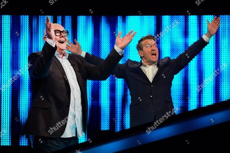 Dominic Brunt and Bradley Walsh