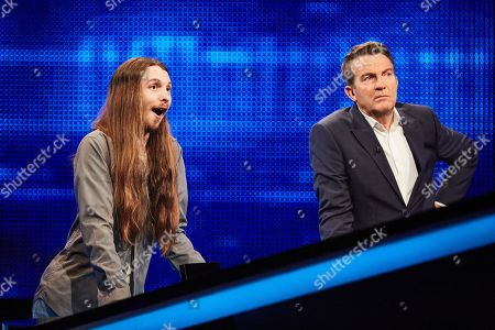 Stock Picture of James Moore and Bradley Walsh
