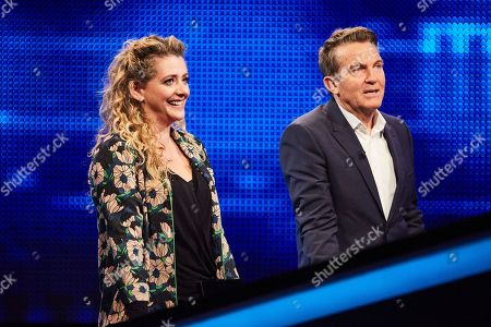 Louisa Clein and Bradley Walsh