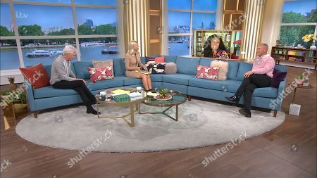 Phillip Schofield, Holly Willoughby, Afua Adom and Rob Rinder