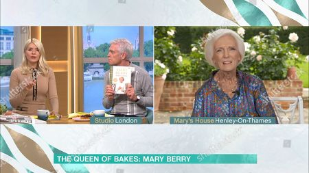 Holly Willoughby, Phillip Schofield and Mary Berry