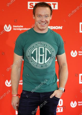 Racing luger Felix Loch poses on the red carpet during 'Bild100 Sport' in Frankfurt am Main, Germany, 23 September 2020. The event invites 100 of the most important and influential German and international personalities of politics, economics and sport.