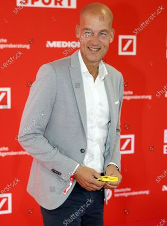 Borussia Dortmund's Director of Sales and Marketing Carsten Cramer poses on the red carpet during 'Bild100 Sport' in Frankfurt am Main, Germany, 23 September 2020. The event invites 100 of the most important and influential German and international personalities of politics, economics and sport.