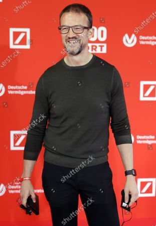 Eintracht Frankfurt's sports director Fredi Bobic poses on the red carpet during 'Bild100 Sport' in Frankfurt am Main, Germany, 23 September 2020. The event invites 100 of the most important and influential German and international personalities of politics, economics and sport.