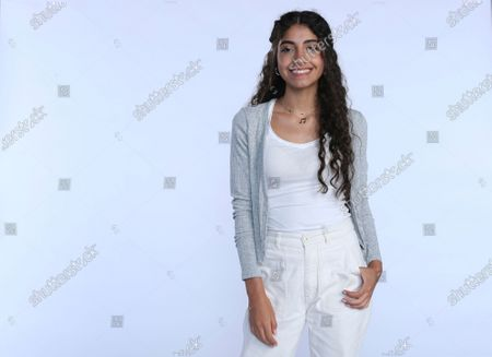 """Stock Picture of Nour Ardakani, a teenage singer from Lebanon, poses for a photoshoot in Dubai, United Arab Emirates, . Ardakani became the latest to join a global pop band formed by Simon Fuller, the man behind the Spice Girls and """"American Idol,"""" which aims to transform young unknowns into internet superstars"""