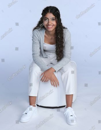 """Stock Photo of Nour Ardakani, a teenage singer from Lebanon, poses for a photoshoot in Dubai, United Arab Emirates, . Ardakani became the latest to join a global pop band formed by Simon Fuller, the man behind the Spice Girls and """"American Idol,"""" which aims to transform young unknowns into internet superstars"""