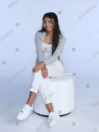 Editorial image of Emirates Lebanese Teen Singer, Dubai, United Arab Emirates - 23 Sep 2020
