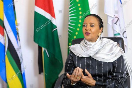 Editorial photo of Kenya's candidate for WTO Director-General Amina Mohamed, Nairobi - 16 Sep 2020