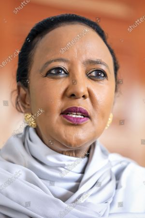 Editorial picture of Kenya's candidate for WTO Director-General Amina Mohamed, Nairobi - 16 Sep 2020