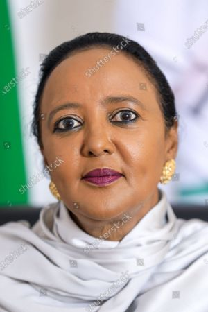 Kenyan Sports Minister and Kenya's candidate for World Trade Organisation (WTO) Director-General Amina Mohamed during an interview with EFE, at her office in Nairobi, Kenya, 16 September 2020 (issued 23 September 2020). On 18 September 2020, Mohamed qualified for the next round in the race to head the WTO.