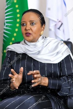Editorial image of Kenya's candidate for WTO Director-General Amina Mohamed, Nairobi - 16 Sep 2020