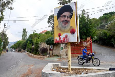 Editorial photo of Explosion at Hezbollah arms depot south Lebanon, Ain Qana - 23 Sep 2020