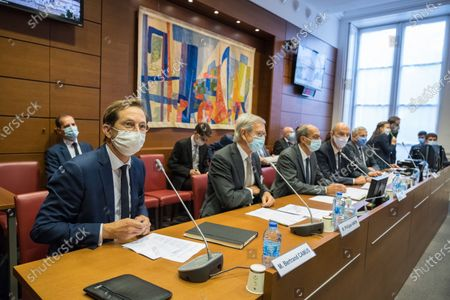 Editorial image of Hearing of the CEO of Veolia and the president of Meridiam, National Assembly, Paris, France - 23 Sep 2020