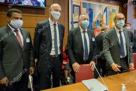 Editorial photo of Hearing of the CEO of Veolia and the president of Meridiam, National Assembly, Paris, France - 23 Sep 2020