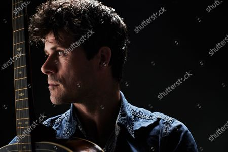 Stock Picture of Portrait of English folk musician Seth Lakeman, photographed in Bath, England, on November 20, 2019.