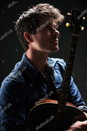 Stock Photo of Portrait of English folk musician Seth Lakeman, photographed in Bath, England, on November 20, 2019.