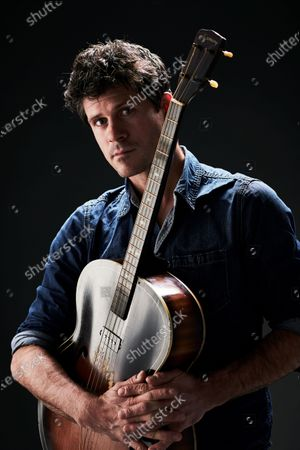Portrait of English folk musician Seth Lakeman, photographed in Bath, England, on November 20, 2019.