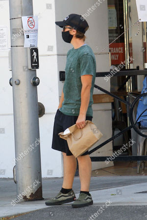 Editorial image of Frankie Muniz out and about, Los Angeles, USA - 22 Sep 2020