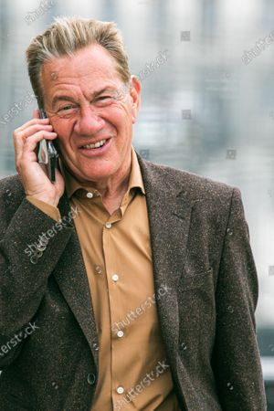 Stock Picture of Former Conservative politcian Michael Portillo in Westminster
