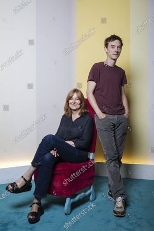 Swann Arlaud and Tatiana Vialle