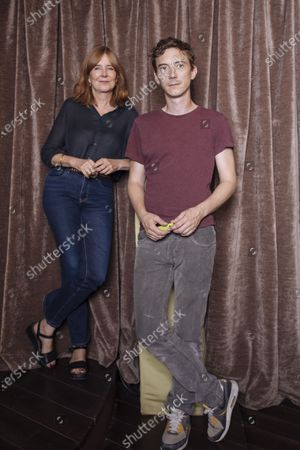 Editorial image of Swann Arlaud and Tatiana Vialle photoshoot, Paris, France - 10 Sep 2020