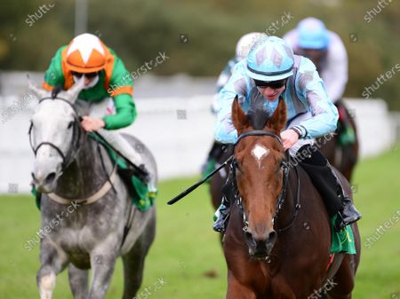 LISTOWEL 24-September-2020. DRUID'S ALTAR and Shane Crosse win for owners Annus Mirabilis Syndicate and trainer Joseph O'Brien.