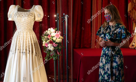 Editorial image of Princess Beatrice's wedding dress to go on public display, Windsor, UK - 23 Sep 2020