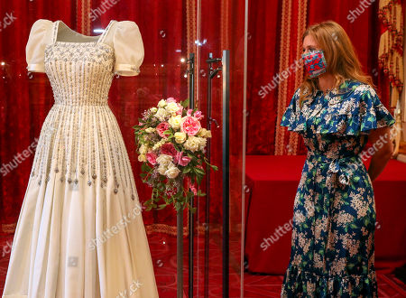 Princess Beatrice's wedding dress on public display, Windsor