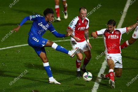 Alex Iwobi of Everton
