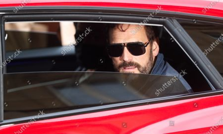 Matt Dillon on his way out of the guest's hotel of the 68th edition of the San Sebastian International Film Festival, in San Sebastian, Spain, 23 September 2020.