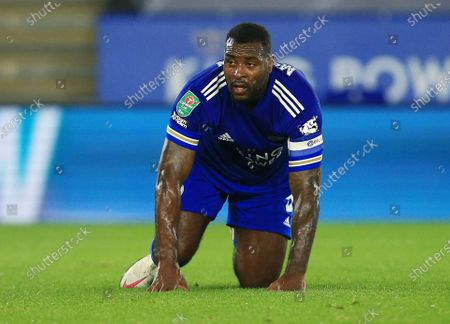 Stock Photo of Wes Morgan of Leicester City