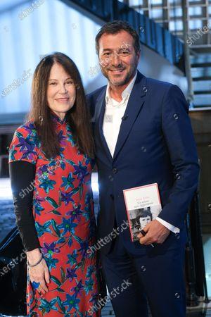 Stock Picture of Ireine Frain and Bernard Montiel