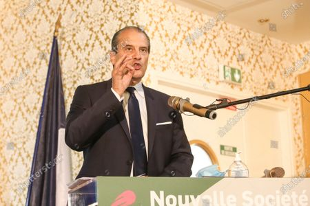 """French Assotiation """"Nouvelle Societe"""" and his president, French left-wing Socialist Party (Parti Socialiste) former first secretary Jean-Christophe Cambadelis, organize their first Natainal Convention in Paris"""