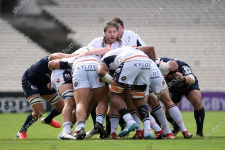 Editorial photo of Rugby UBB v Edimbourg, Challenge Cup quarter final rugby match, Bordeaux, France - 19 Sep 2020
