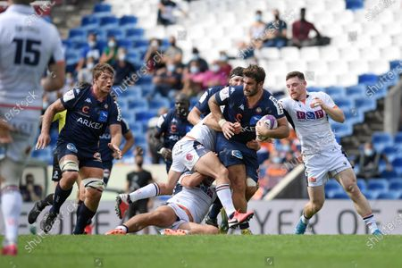 Editorial picture of Rugby UBB v Edimbourg, Challenge Cup quarter final rugby match, Bordeaux, France - 19 Sep 2020