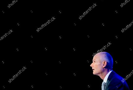 Editorial picture of Dutch FM Blok during a virtual meeting about Syria, The Hague, Netherlands - 23 Sep 2020