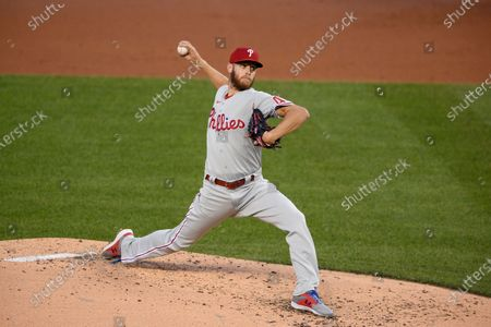 Editorial picture of Phillies Nationals Baseball, Washington, United States - 21 Sep 2020