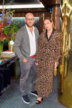 Stock Picture of Carlo Carello and Alexandra Carello