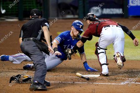 Editorial photo of Rangers Diamondbacks Baseball, Phoenix, United States - 23 Sep 2020