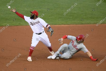 Editorial picture of Phillies Nationals Baseball, Washington, United States - 23 Sep 2020