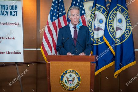 United States Representative Richard Neal (Democrat of Massachusetts), offers remarks during a press conference on reforms package at the US Capitol in Washington, DC., Wednesday, September 23, 2020.