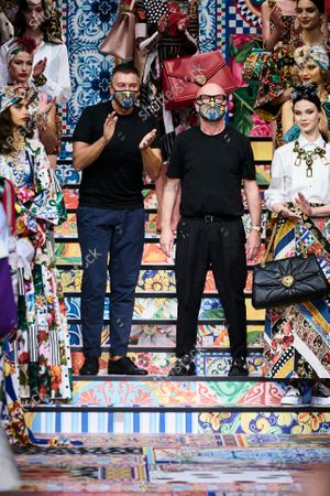 Editorial picture of Dolce & Gabbana show, Runway, Spring Summer 2021, Milan Fashion Week - 23 Sep 2020