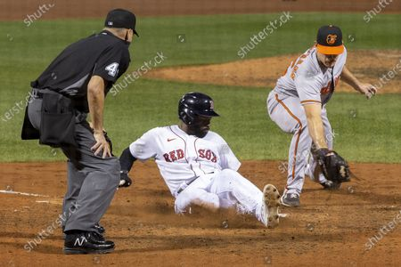 Editorial picture of Baltimore Orioles at Boston Red Sox, USA - 23 Sep 2020